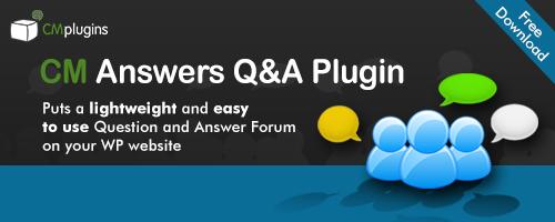 CM Answers Best WordPress Answers Plugins