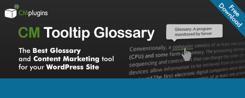 CM Glossary Tooltip Best WP Glossary Plugin