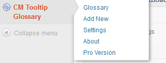 add term-CM Tooltip Glossary User Guide