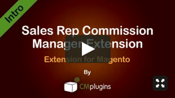 Sales Rep Commission Manager Extension for Magento