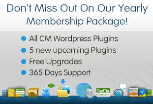 CM WP Plugins Membership package