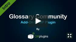 CM Glossary Community Terms